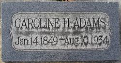 Caroline <i>Hansen</i> Adams