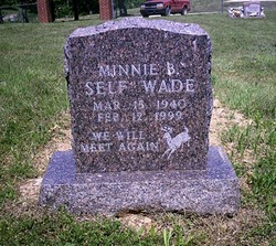 Minnie Bell <i>Self</i> Wade