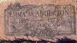 Emma Mabel <i>Vandruff</i> Anderson