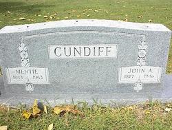 Mentie <i>Thedford</i> Cundiff