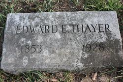 Edward E Thayer