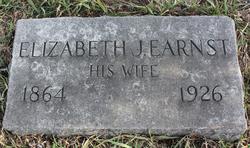 Elizabeth Jane <i>Earnst</i> Thayer