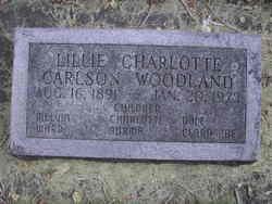 Lillie Charlotte Carlson Woodland