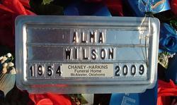 Alma Louise <i>Adams</i> Wilson