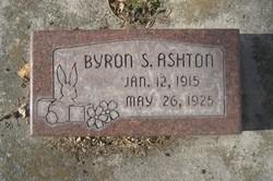 Byron S Ashton