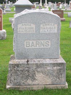 Emma R <i>Robbins</i> Barns