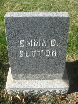 Emma <i>Davis</i> Sutton
