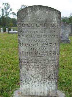 Beulah B McBrayer