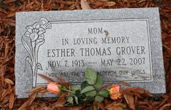 Esther <i>Thomas</i> Grover