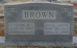 Dovie <i>Minor</i> Brown