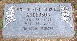 Mollie <i>King</i> Anderson
