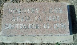 Dorothy Jean <i>Appling</i> Cox