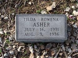 Tilda Rowena Asher