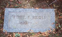 Ethel F. <i>Smith</i> Biddle