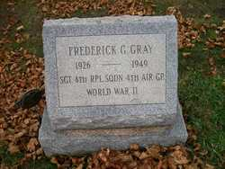 Sgt Frederick G Gray