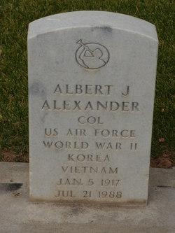 Albert J Alexander
