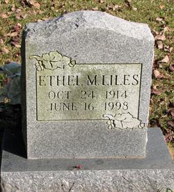 Ethel Marm <i>Bates</i> Liles