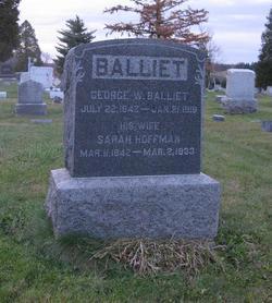 Sarah E. <i>Hoffman</i> Balliet