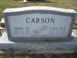 Cuba Paul Carson