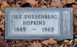Isle Denny <i>Duesenberg</i> Hopkins