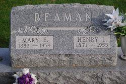Mary E. <i>Best</i> Beaman