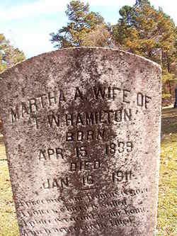 Martha A Hamilton