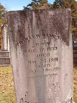 Thomas W Hamilton
