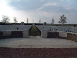 A.I.F. Burial Ground, Flers