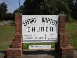 Effort Baptist Churchyard