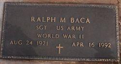 Ralph M Baca