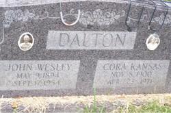 Cora Kansas <i>Whittaker</i> Dalton