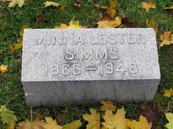 Minna Lester <i>Simms</i> Everleigh