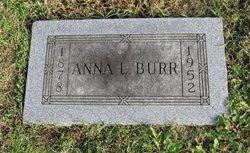 Anna <i>Schul</i> Burr