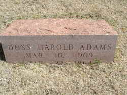 Doss Harold Adams
