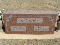 Eva Mae <i>LaFaver</i> Adams