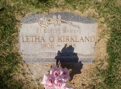 Letha O. <i>Elms</i> Kirkland