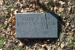 Willie Lou <i>Goen</i> Robinson Nelson