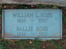 Sarah Sallie <i>McCuen</i> Rose