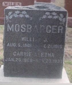 Carrie Althea <i>Bevard</i> Mosbarger
