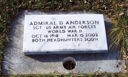 Admiral Dewey Anderson