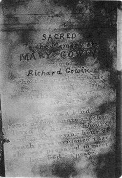 Mary Polly <i>Bennett</i> Gowan