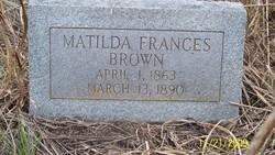 Matildia Francis Tildia <i>Fortenberry</i> Brown
