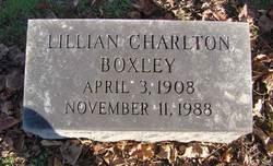 Lillian <i>Charlton</i> Boxley