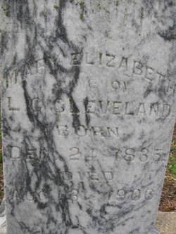 Mary Elizabeth <i>Stribling</i> Cleveland