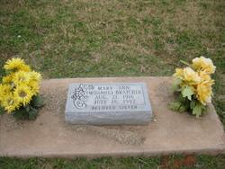 Mary Ann <i>McDaniel</i> Bratcher