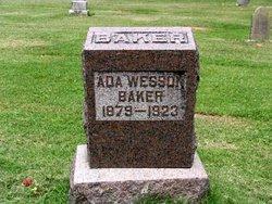 Ada L. <i>Wesson</i> Baker
