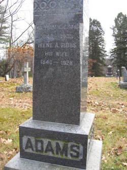 Irene A <i>Gibbs</i> Adams