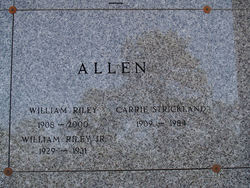 William Riley Allen, Sr