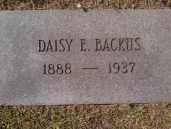 Daisy Edith <i>White</i> Backus