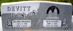 Beth <i>Ellison</i> Devitt